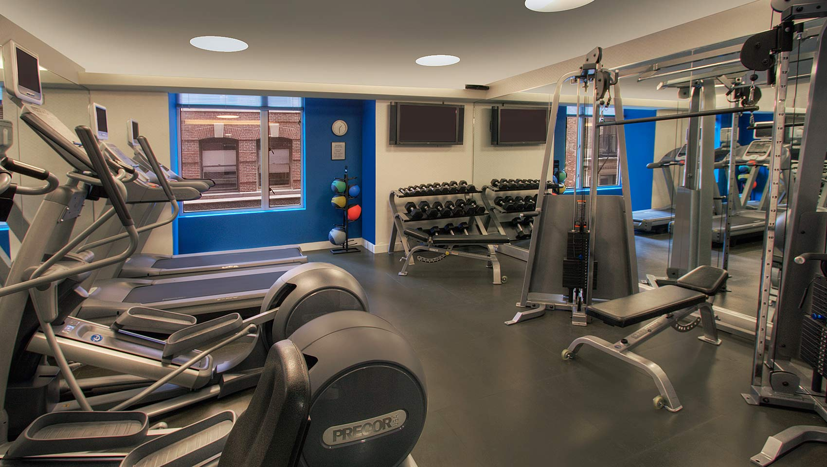 Kimpton Nine Zero Hotel Fitness Center