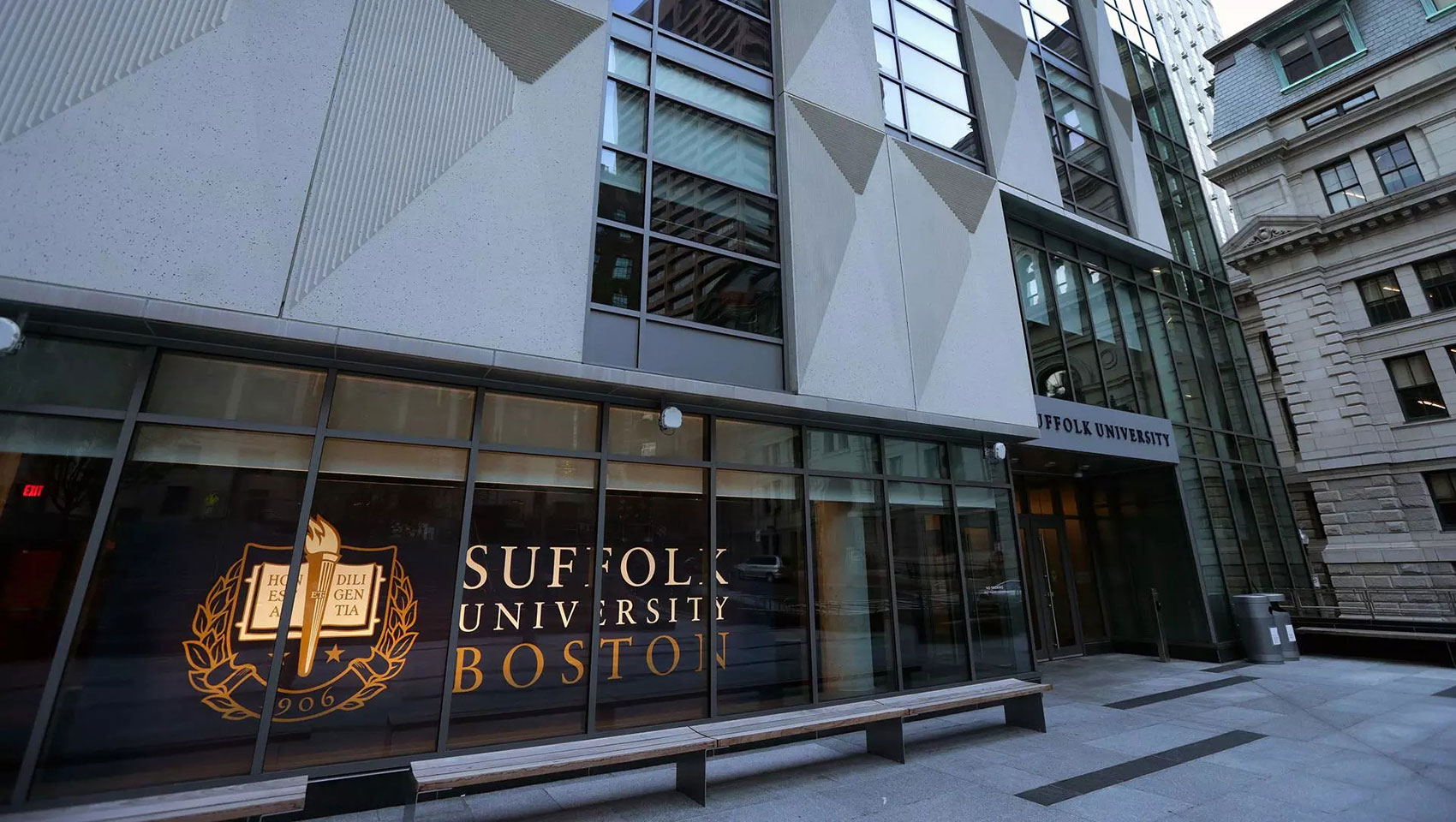 Suffolk University Entrance
