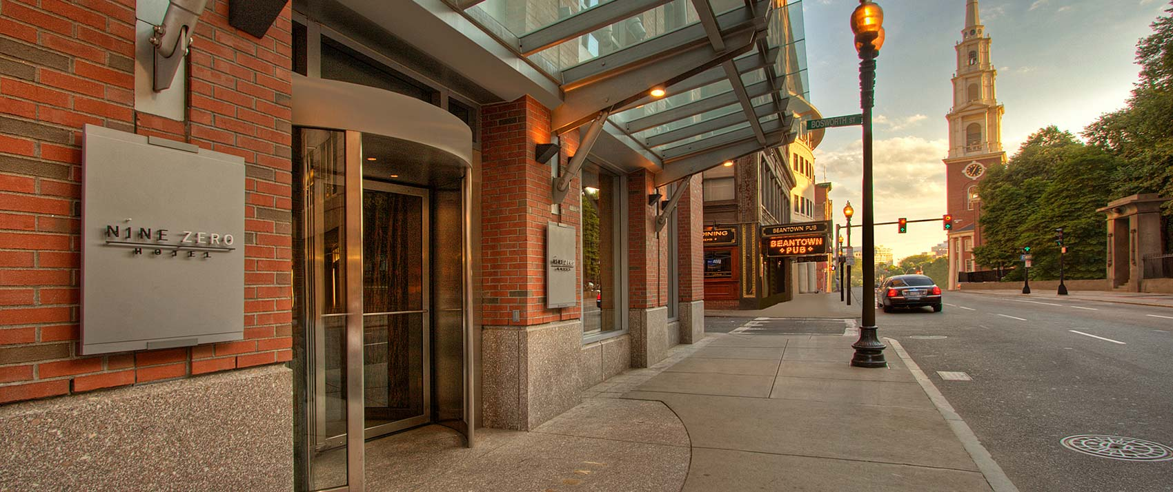 Kimpton Nine Zero Hotel entrance