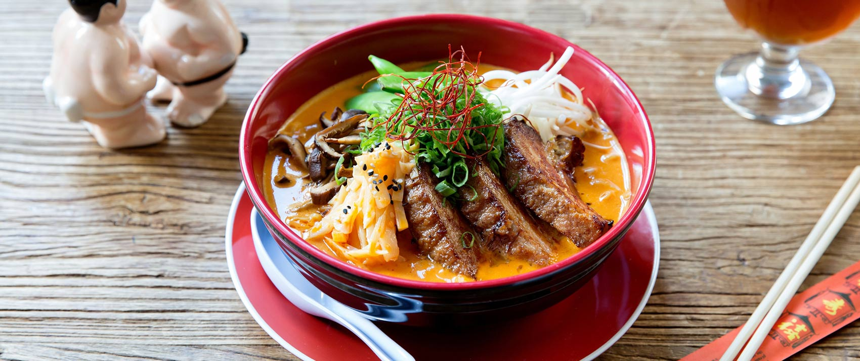 Highball Lounge Ramen Dish